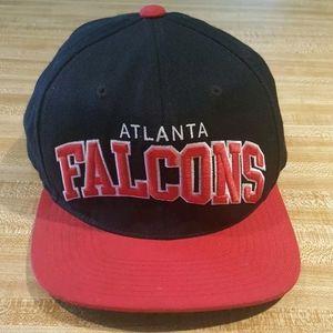 Atlanta Falcons Snapback Block Lettering Mitchell